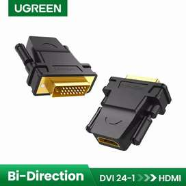 UGREEN Original Adapter Converter HDMI to DVI 24+1 Female 1080P