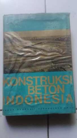 Buku kontruksi beton indonesia