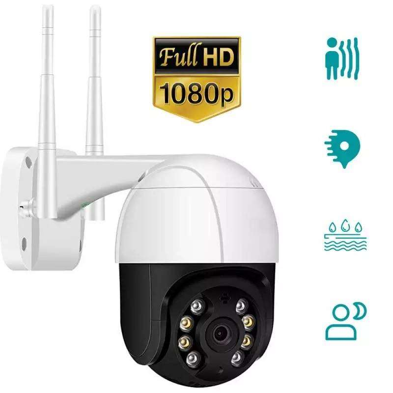 Car Securitry  Wireless 1080P CCTV WIFI IP Camera Wireless PTZ Smart