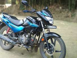 Hero glamour brand new condition.. one handed runing..