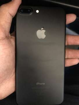 Iphone 7 plus 128 gb matt black