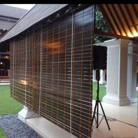 Krey kayu motif outdoor 994