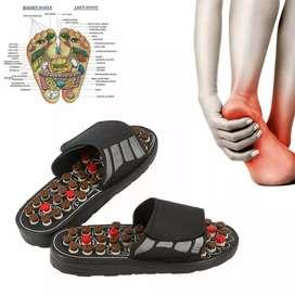 Sandal Pijat Akupuntur Health Care Reflexology Slipper 42-43 -VL-FT10C