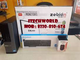 Dell (Core-i5) 4GB Ram, 500GB Hdd, Dvd, 18.5 Zebion Led , kb mouse set