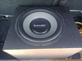 New subwoofer with amplifier