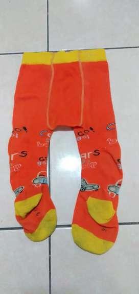 Preloved Celana Legging Baby Mobil Orange