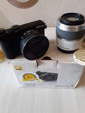 Paket Nikon J5 Wifi dua lensa kit & tele
