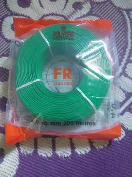 Polycab wire of 4, 2.5 and 1.5 sq mm. Price lower than wholesale rate.