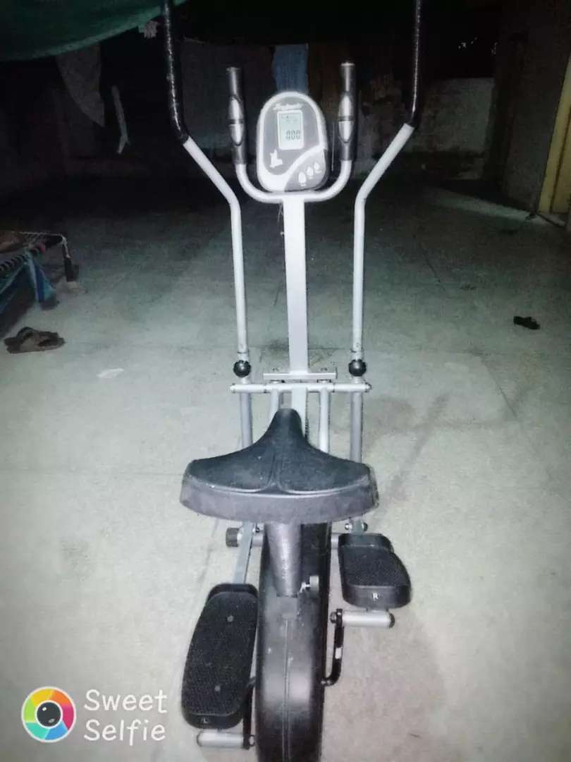 Exercise elliptical cycle imported less used 0