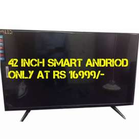42 INCH latest smart andriod at Best deal price free cod