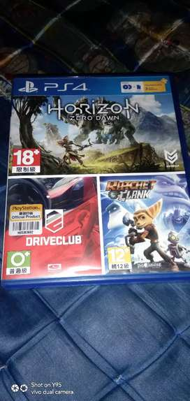 BD Game Ps4 Ps 4 Bundle HORIZON + DRIVE CLUB