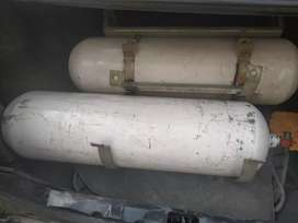 Car CNG Cylinders with frame