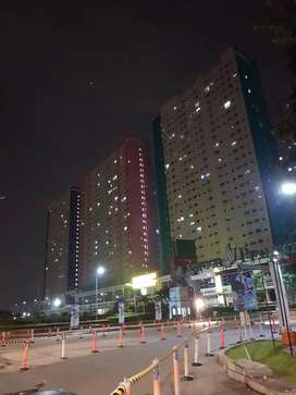 Sewa Apartemen Kondisi Ac 2 unit, Kosongan di Green Pramuka City