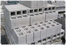 Labour required for block construction