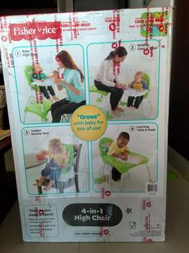 4 in 1 High Chair for kids