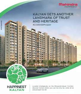 Presenting 1 bhk flats by Mahindra group at affordable rates.
