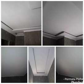 Plafon Gypsum/ Grc /  PVC