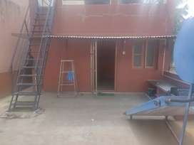 Hall kitchen and toilet for rent