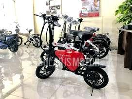 Sepeda Lipat Listrik - Lithium Bike 2