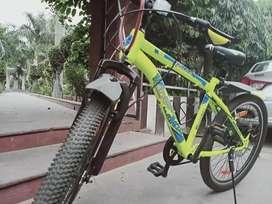Neon green cycle