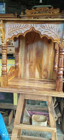 All wooden work
