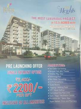 apartments for sale in best price pre launching offer -per sft-