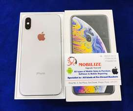 iPhone XS 64GB Silver In Brand New Condition.