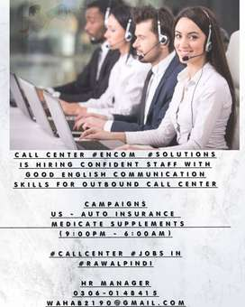 call center representative required