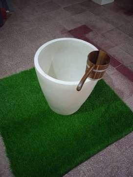 Bak mandi free gayung unik