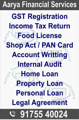 Income Tax, Gst, Accounting, Auditing
