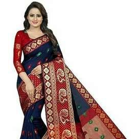 Banarasi saree with blouse piece, Not old bt  pure new.