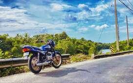 Yamaha RXZ semi ported last month