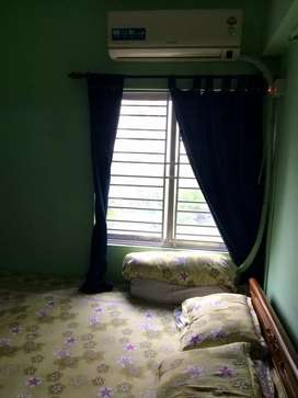 1 Bhk well furnished flat for rent in shapoorji housing complex