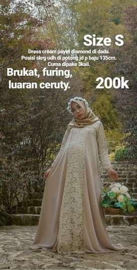 Preloved dress bagus murah