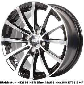 velg baru model BLAHBATUH H12383 HSR R15X65 H4x100 mobil jazz march