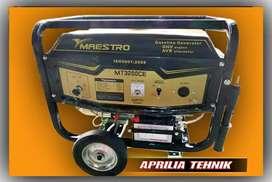 Genset maestro MT 3200 CE.bahan bakar bensin.IRIT
