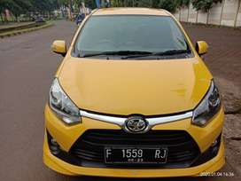 TDP 5 JT Toyota Agya G TRD 1.2 th 2018 kuning