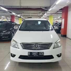 Toyota Innova G AT 2013 Putih. Paket Kredit Murah