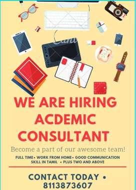 Acdemic consultant