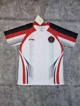 Jersey batminton edisi olimpiade bisa kasih namset dan PB ny