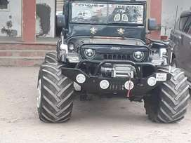 Guru Nanak jeep modify