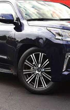 LX 570 rims with tyre