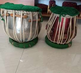 Tabla a pair of 2 wooden drums