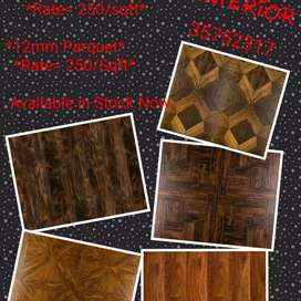 Wooden flooring for home and office decor