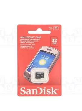 Sandisk memory card (16 GB)