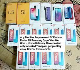 I HAVE ALL REDMI AND REALME FRESH NEW STOCK REQUIREMENTS PLZ DM