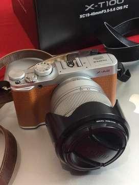 Fujifilm X A2 + lensa fujinion tele