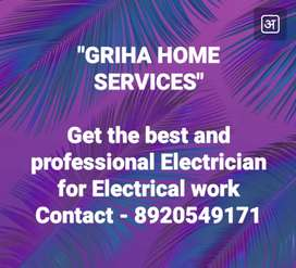 Professional Electrician for Electrical work.