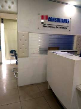 400sqft fully furnish office near tuition market model town extension
