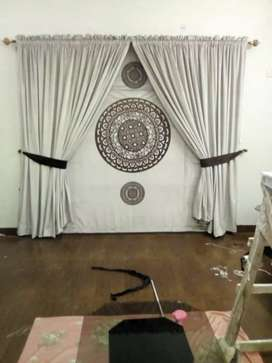 Fancy blinds and curtains on your doorstep
